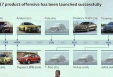 Volkswagen onthult lanceringskalender voor 2017