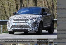 Range Rover Evoque 2019 : Il sera plus grand