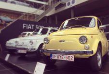 Autoworld célèbre la Fiat 500