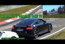 Une demande en mariage sur le Ring !