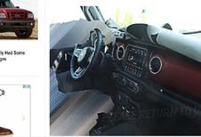 Jeep Wrangler 2018: interieur nu al online te zien