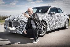 Mercedes Classe A 2018: un selfie avec Dieter Zetsche