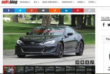 Subaru : une BRZ STI se précise…