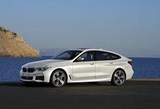 BMW Série 6 GT : changement de chiffre