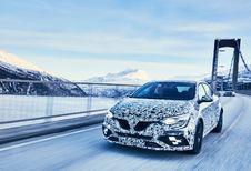 La Renault Mégane R.S. dans la neige