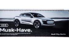 Audi tacle Elon Musk de Tesla