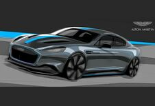 Aston Martin lanceert elektrische Rapid in 2019