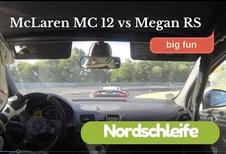 Nürburgring : une McLaren n'arrive pas à semer une Mégane RS