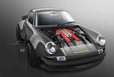 Porsche 911 : et pourquoi pas avec un V12 Ferrari ?