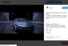 BMW i8 Roadster : teaser