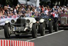 Éléphant Blanc et coupés étoilés au Silvretta Classic
