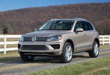 Volkswagen Touareg: niet langer in de USA