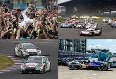 Druk autosportweekend: de winnaars en verliezers