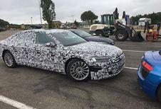 Audi A8 hybride sur L'Occitane