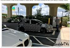 Nissan Leaf : la nouvelle génération prise sur le vif