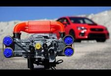Un moteur Boxer Subaru en impression 3D