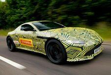 Aston Martin : premières images de la future Vantage