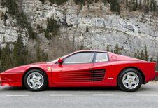 Ferrari is Testarossa kwijt