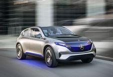 Mercedes EQ-A : électrique sur plateforme de Classe A #1
