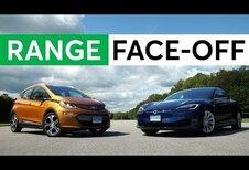 La Chevrolet Bolt (Opel Ampera-e) va plus loin qu'une Tesla