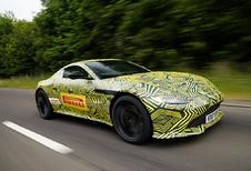 Opvolger Aston Martin Vantage V8 is bijna klaar