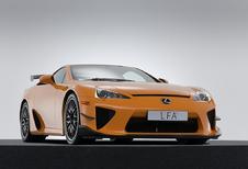 Koop een gloednieuwe Lexus LFA