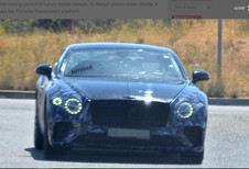 Bentley Continental GT : presque nue !