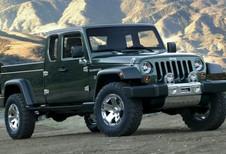 Jeep Scrambler : le pick-up Wrangler