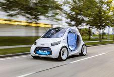 Smart Vision EQ Fortwo: autonome deelwagen