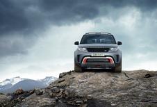 Land Rover Discovery SVX is extreme terreinbeul met een sporthart