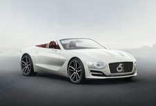 Bentley: elektrische roadster in 2021