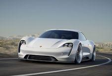 Porsche Mission E 'tankt' 400 kilometer in 15 minuten #1