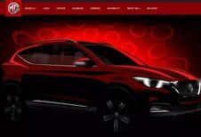 MG XS : un nouveau SUV compact