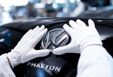 Volkswagen : la Phaeton électrique dès 2018 ?
