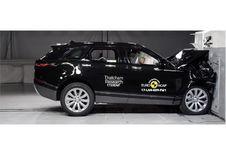 Range Rover Velar krijgt 5 EuroNCAP-sterren