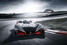 Peugeot L750R Hybrid Vision Concept: voor op je scherm