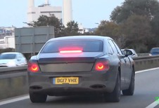 VIDEO – Bentley Continental: nieuwe Flying Spur betrapt