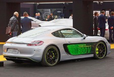 Porsche Cayman E-Volution: elektrische bijtkracht