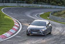 Opel Insignia GSi: demonstratie op de Nürburgring