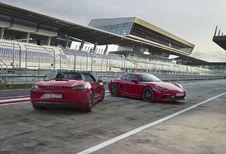 Porsche 718 GTS : plus sportives