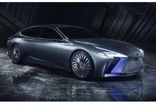 Lexus LS+ concept : avec chauffeur intégré