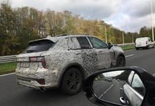 Un SUV chinois sur l'autoroute à Nivelles