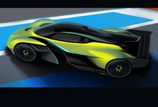 Aston Martin Valkyrie AMR Pro trekt 3,3 G