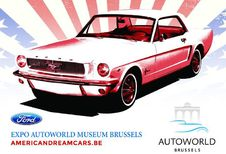 American Dream Cars à Autoworld de mi-décembre à fin janvier