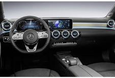 Mercedes A-Klasse: interieur onthuld