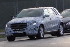 VIDEO – Mercedes : le futur GLE piégé