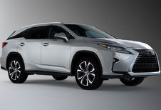 Lexus RX L: 7 plaatsen en 11 centimeter meer