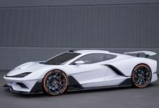 Aria FXE : hypercar hybride américaine