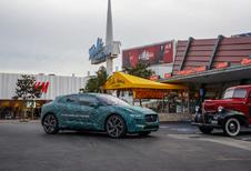 Jaguar I-Pace test in Californië