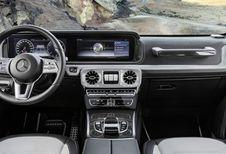 Mercedes Classe G : images de l'habitacle
